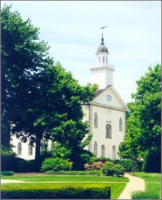 Kirkland Ohio.  This is the Kirtland temple.  You can tour it and it's history is very inspiring.  The LDS church has a wonderful area just north of the temple where there are several buildings to visit.  Wonderful tours and facilities.