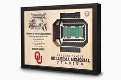 The perfect gift for your Sooner fan's office.