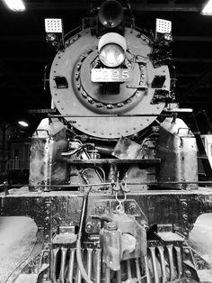 Steam Railroad Institute Owosso, MI. Pere Marquette 1225