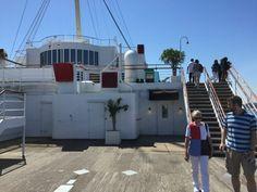 Promenade deck of th