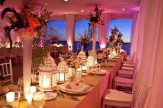 Belle Mer, Island House - Newport. Rhode Island. Pink, Ivory and Gold / Newport Rhode Island Wedding Planner: Donna Kim of ThePerfectDetails.com / Photo: Kristin Spencer Photography