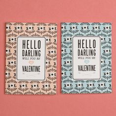 Valentines Day Darling Card and Coupons