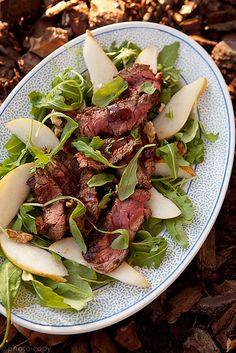 Steak Salad. Visit www.CouponMom.com for discounts on all the healthy, crunchy ingredients! #CouponMom #Coupon #Yummy #Recipe #Salads #Veggies