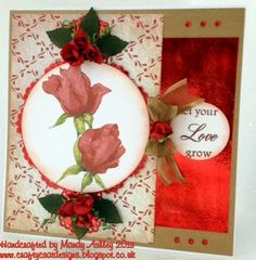 Created using CD from Card Creations - flowers in bloom.