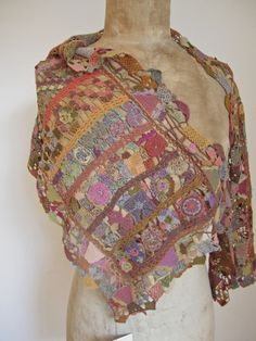 Crochet - Sophie Digard Scarf - Wow, this is beautiful
