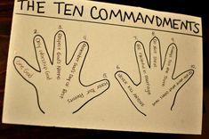 10 Commandments Sunday School Lessons Activities Crafts Preschool