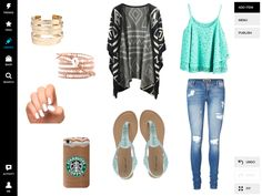 super cute outfit for teens on the first day of school!