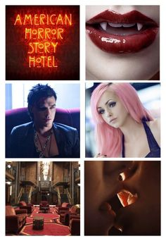 """""""American Horror Story: Hotel - Tristan Duffy and Ruby/Sibella Johnson"""" by kelseystan97 ❤ liked on Polyvore featuring OC, americanhorrorstory, ahs and tristanduffy"""