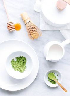 Thé Matcha Vegan #vegan #recette #recipes #food #tea #matchalatte #matcha