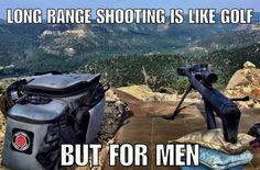 Pretty true in todays world where Golf is the opiate of conformists. Military Jokes, Army Humor, Gun Humor, Gun Meme, Military Girlfriend, Stupid Funny, Funny Jokes, It's Funny, Ingenieur Humor
