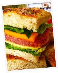 Campagno's Deli in Monterey. Perfect for picnic food!