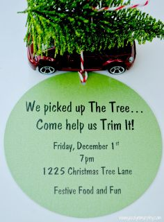 I love this idea. How fun to have friends over to help decorate your tree. Add a little hot toddy and you have yourself a party. Jac o' lyn Murphy: Tiny Tree Trimming. Christmas Tree Trimming, Christmas Open House, Christmas In July, All Things Christmas, Little Christmas, Merry Christmas, Xmas Theme, Christmas Party Themes, Christmas Printables