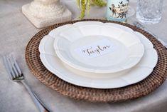 Lovestruck French Scalloped Plates