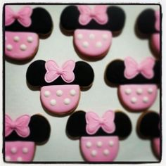 minnie mouse cookie - Google Search