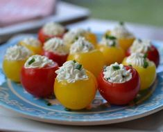 Tomato season is here! These seven gluten free garden tomato recipes are sure to be a hit. Tea Recipes, Summer Recipes, Appetizers For Party, Appetizer Recipes, Garden Tomato Recipes, Tee Sandwiches, Tomato Season, Stuffed Tomatoes, Stuffed Peppers