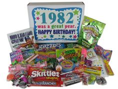 Nostalgic Candy from 1982