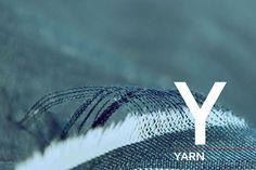 The Replay denim alphabet. Y as in Yarn.