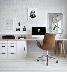 Modern Home Office Design is certainly important for your home. Whether you choose the Modern Home Office Design or Decorating Big Walls Living Room, you will make the best Modern Office Design Home for your own life.