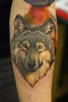 Belagoria: Tatuajes de lobos , ideas y simbolismo