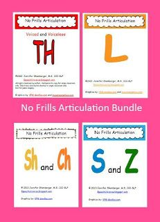 No Frills Articulation: Bundle! Check out four great packets for articulation at the word, phrase, sentence, and story level. Articulation Activities, Speech Therapy Activities, Speech Language Pathology, Speech And Language, Speech And Hearing, Phonological Awareness, Language School, Letter Sounds, Teaching