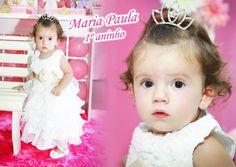Festa de um aninho da linda Maria Paula! #1aninho #festa #princesa