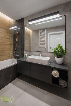 #essa #bathroom #łazienka #interiordesign #architektwnętrz Bathroom Lighting, Interior Design, Mirror, Furniture, Home Decor, Bathroom Light Fittings, Nest Design, Bathroom Vanity Lighting, Decoration Home