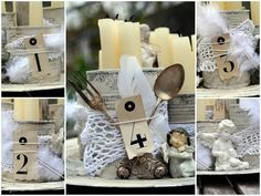 My Perfectly Imperfect Home: Advent aus der Tonne ;) - Recycling hoch zwei