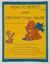 How To Detect and Prevent Child Abuse  5 Clock Hours  Learn from topics which include The Reasons Child Abuse is Increasing,  The Effects of Child Abuse,  Emotional Abuse, Child Overindulgence,  Physical Abuse, Child Neglect, and  Child Sexual Abuse. Please click on product image to order.