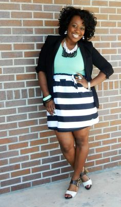plus size, outfit, summer looks