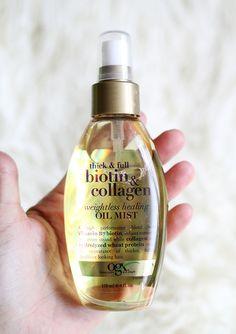 Biotin & Collagen Oil Spray.