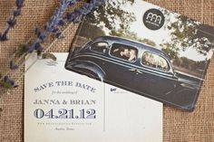 Janna and Brian's wedding stationery, Melissa and Amy from Atheneum Creative