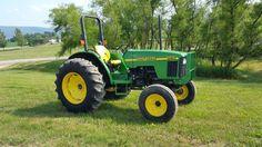 1999 John Deere 5210 Agricultural Farm Tractor Diesel Engine 2WD Machinery 45HP