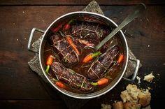 Beef olives: a true comfort food