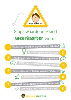 Infographic Weerbaarheid Coaching, Primary Education, Kids Education, Social Work, Social Skills, Educational Leadership, Educational Technology, Learning Quotes, Kids Behavior