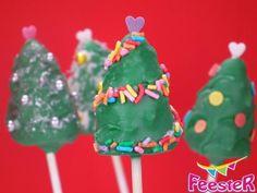 Is het al tijd om de Kerstboom Cake Pops op te tuigen?