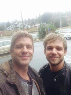 Max Theriot (Dylan) & Kenny Johnson (Caleb)
