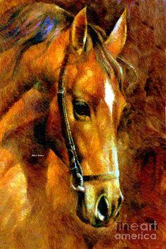 Pure Breed Digital Art by Rafael Salazar