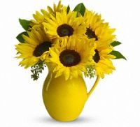 Make Someone Smile #SunFlower Arrangement :: Blossom Shoppe