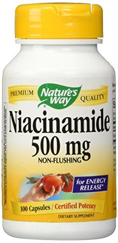 Nature's Way Niacinamide 500 mg Capsules, 100 Count - http://alternative-health.kindle-free-books.com/natures-way-niacinamide-500-mg-capsules-100-count/
