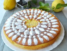 Che profumo! Ecco la torta al limone di Fabio, che conquista l'olfatto e il cuore | Sonia Peronaci - Sonia Peronaci
