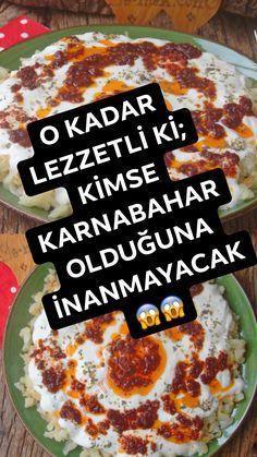 New Recipes, Snack Recipes, Dessert Recipes, Favorite Recipes, Veggie Fries, Good Food, Yummy Food, Iftar, Turkish Recipes