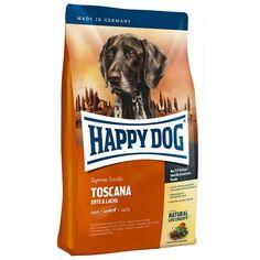 Animalerie  Happy Dog Supreme Sensible Toscane saumon canard pour chien  1 kg