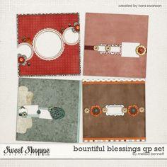 Bountiful Blessings QP Set by Melissa Bennett