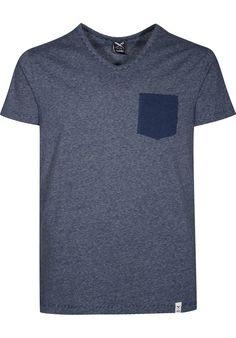 iriedaily V-Pocket-Ringel-Tee - titus-shop.com  #TShirt #MenClothing #titus #titusskateshop