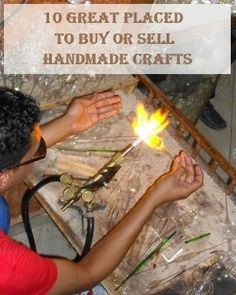 10 Great Places to Buy or Sell Handmade Crafts
