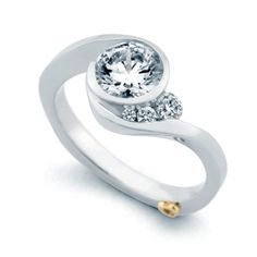 right hand diamond ring settings - Google Search