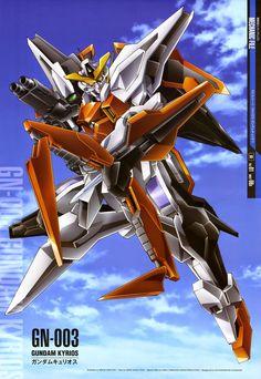 Mobile Suit Gundam Mechanic File : GN-003 Gundam Kyrios