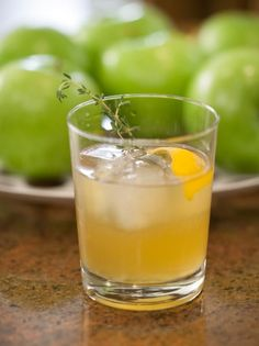 Get Tiffani Thiessen's Meyer Lemon and Thyme Whiskey Sour Recipe from Cooking Channel