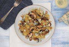 Maaltijdrösti met paddenstoelen en gorgonzola – 5 OR LESS
