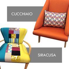 I principali requisiti di una poltrona sono: comodità e bellezza. Con #Cucchiaio e #Siracusa è amore a prima vista!  Poltrone della #Collezione #Dance.  #tessuti #interiordesign #tendaggi #textile #textiles #fabric #homedecor #homedesign #hometextile #decoration Visita il nostro sito www.ctasrl.com e scarica le nostre brochure su: http://bit.ly/1nhrLQM